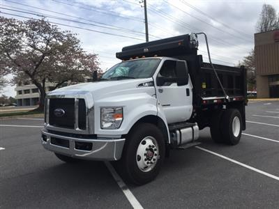 2019 F-650 Regular Cab DRW 4x2,  Godwin 300T Dump Body #CDF06194 - photo 1