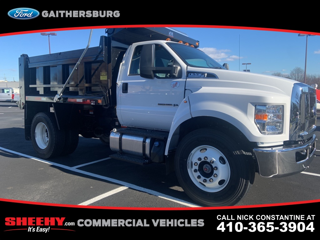 2021 Ford F-650 Regular Cab DRW 4x2, Godwin Dump Body #CDF07676 - photo 1