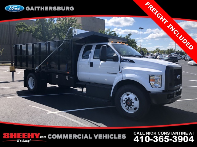 2019 F-650 Super Cab DRW 4x2,  PJ's Landscape Dump #CDF10650 - photo 3