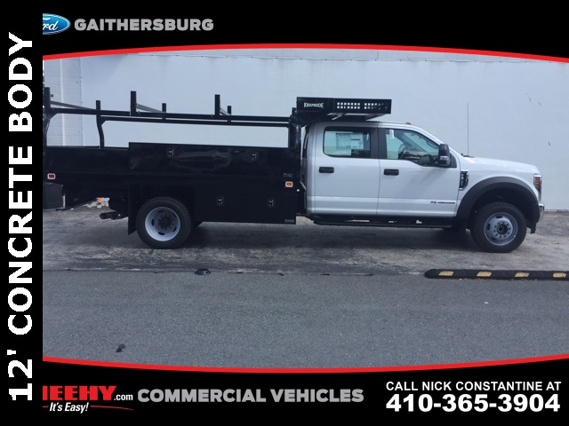 2018 F-450 Crew Cab DRW 4x4,  Knapheide Contractor Body #CEB85309 - photo 4