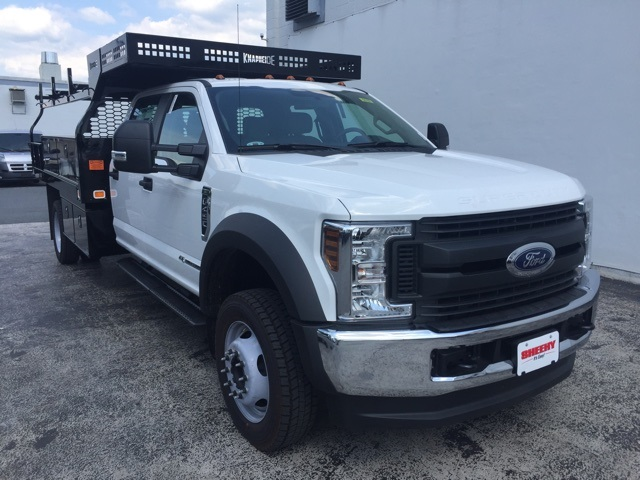 2018 F-450 Crew Cab DRW 4x4,  Knapheide Contractor Body #CEB85309 - photo 5