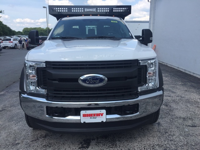 2018 F-450 Crew Cab DRW 4x4,  Knapheide Contractor Body #CEB85309 - photo 6