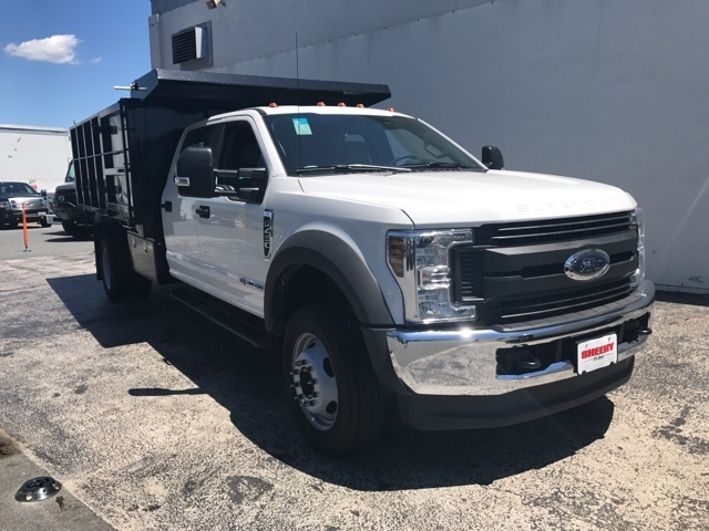 2018 F-450 Crew Cab DRW 4x4,  Reading Landscape Dump #CEB98912 - photo 4