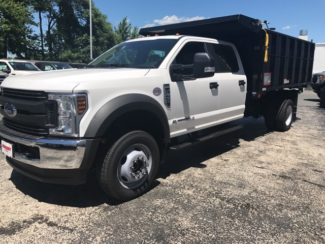 2018 F-450 Crew Cab DRW 4x4,  Reading Landscape Dump #CEB98912 - photo 6