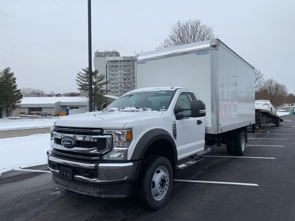 2021 Ford F-550 Regular Cab DRW 4x2, Dejana Dry Freight #CEC13635 - photo 1