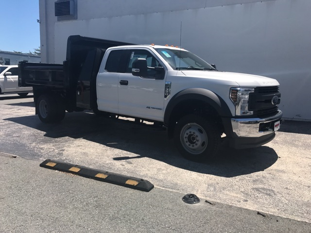2018 F-550 Super Cab DRW 4x4,  Dump Body #CEC70247 - photo 3