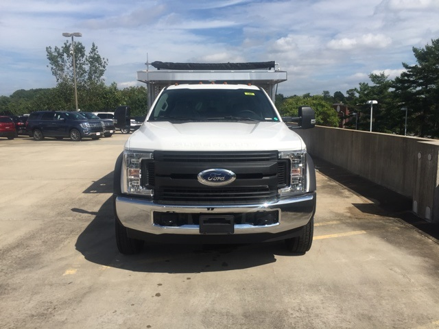 2018 F-450 Crew Cab DRW 4x2,  Dejana Truck & Utility Equipment Landscape Dump #CED03284 - photo 4