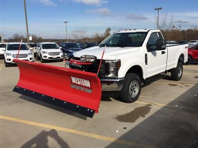 2019 F-250 Regular Cab 4x4,  Western Snowplow Pickup #CED23454 - photo 1