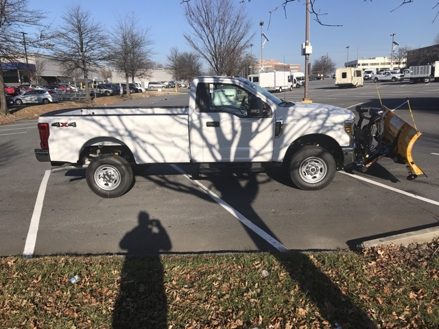2019 F-250 Regular Cab 4x4,  Meyer Snowplow Pickup #CED43888 - photo 4