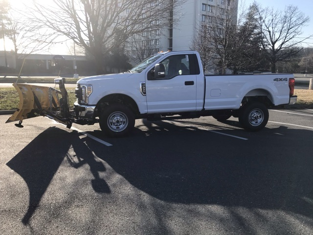 2019 F-250 Regular Cab 4x4,  Meyer Snowplow Pickup #CED43888 - photo 1