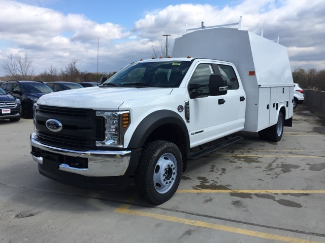 2019 F-550 Crew Cab DRW 4x4,  Knapheide Service Body #CED72034 - photo 1