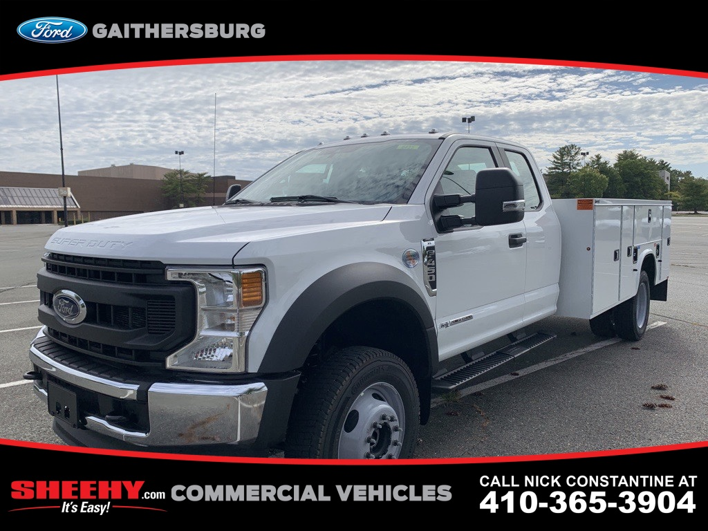 2020 Ford F-450 Super Cab DRW 4x4, Knapheide Service Body #CED99480 - photo 1