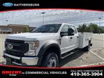 2020 Ford F-550 Crew Cab DRW 4x4, Knapheide Steel Service Body #CEE11631 - photo 1