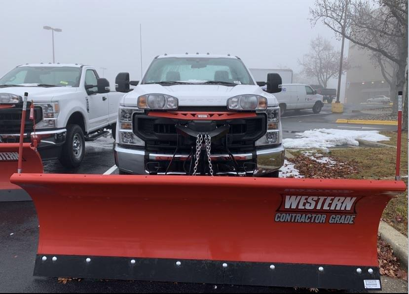 2020 Ford F-250 Regular Cab 4x4, Western Snowplow Pickup #CEE23309 - photo 5
