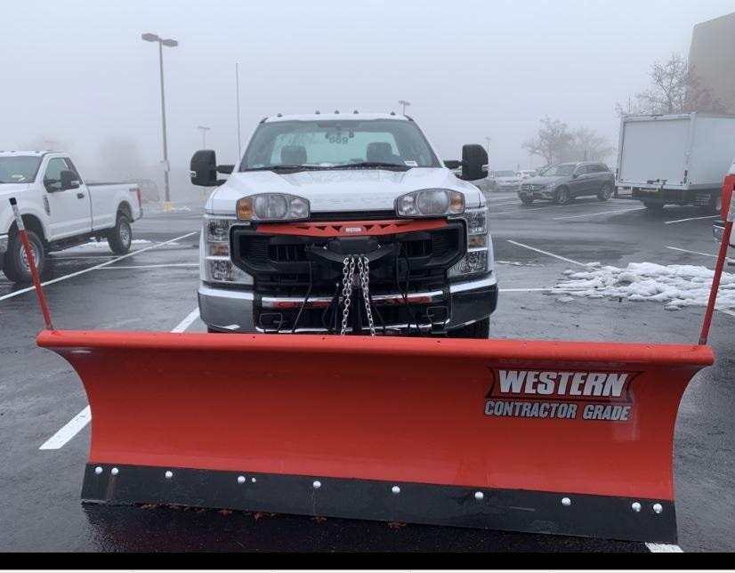 2020 Ford F-250 Regular Cab 4x4, Western Snowplow Pickup #CEE23310 - photo 7