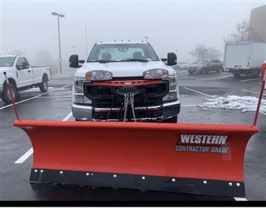 2020 Ford F-250 Regular Cab 4x4, Western Snowplow Pickup #CEE23310 - photo 6