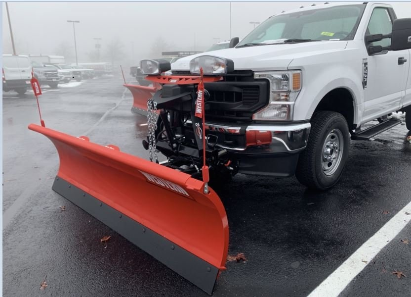 2020 Ford F-250 Regular Cab 4x4, Western Snowplow Pickup #CEE79581 - photo 2