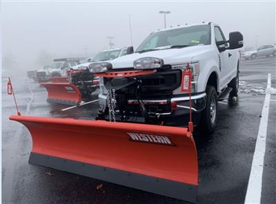2020 Ford F-250 Regular Cab 4x4, Western Snowplow Pickup #CEE79581 - photo 9