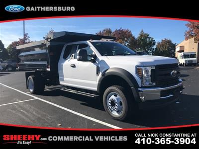 2019 F-450 Super Cab DRW 4x4, Rugby Landscape Dump #CEF04491 - photo 1