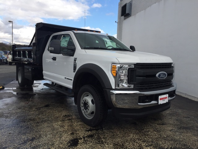 2017 F-550 Super Cab DRW 4x4, Rugby Dump Body #CEF23363 - photo 3