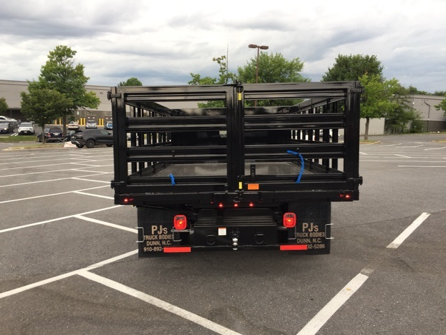 2019 F-350 Regular Cab DRW 4x2,  PJ's Stake Bed #CEF25243 - photo 2
