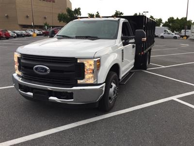 2019 F-350 Regular Cab DRW 4x2,  PJ's Stake Bed #CEF25243 - photo 5