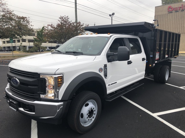 2019 F-450 Crew Cab DRW 4x2, Reading Landscape Dump #CEF84958 - photo 1