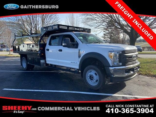 2019 F-450 Crew Cab DRW 4x4, Knapheide Contractor Body #CEG17648 - photo 1