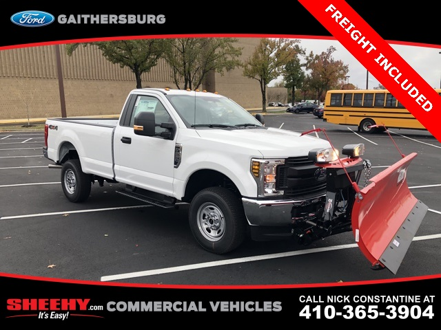 2019 F-250 Regular Cab 4x4, Western Snowplow Pickup #CEG24535 - photo 3