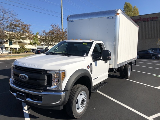 2019 F-550 Regular Cab DRW 4x2, Dejana Dry Freight #CEG57558 - photo 1