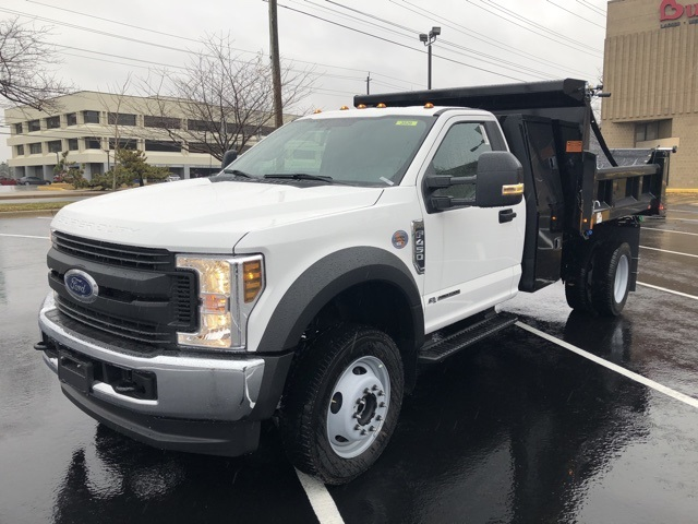 2019 F-450 Regular Cab DRW 4x4, Rugby Eliminator LP Steel Dump Body #CEG58077 - photo 1