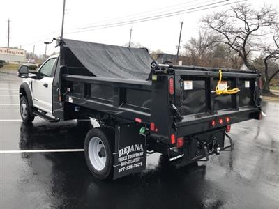 2019 F-450 Regular Cab DRW 4x4, Rugby Eliminator LP Steel Dump Body #CEG58077 - photo 2