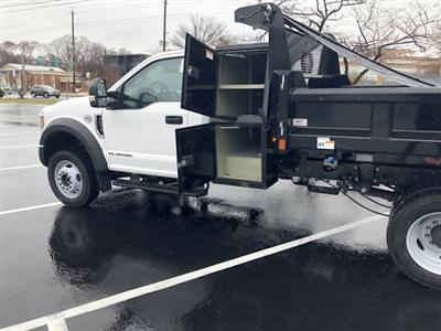 2019 F-450 Regular Cab DRW 4x4, Rugby Eliminator LP Steel Dump Body #CEG58077 - photo 7