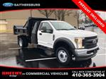 2019 F-450 Regular Cab DRW 4x4, Rugby Eliminator LP Steel Dump Body #CEG58077 - photo 3