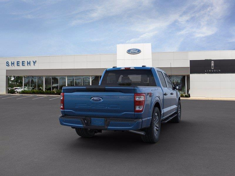 2021 Ford F-150 SuperCrew Cab 4x4, Pickup #CFA36809 - photo 8