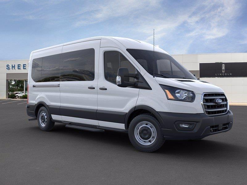 2020 Ford Transit 350 Med Roof RWD, Passenger Wagon #CKA39093 - photo 3