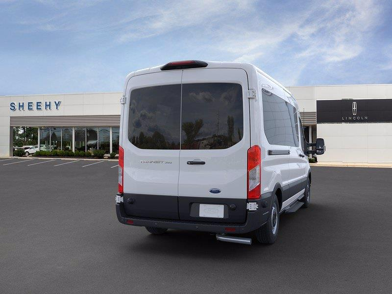 2020 Transit 350 Med Roof RWD, Passenger Wagon #CKA39093 - photo 8