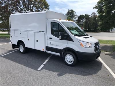 2019 Transit 350 HD DRW 4x2,  Reading Aluminum CSV Service Utility Van #CKA70930 - photo 1
