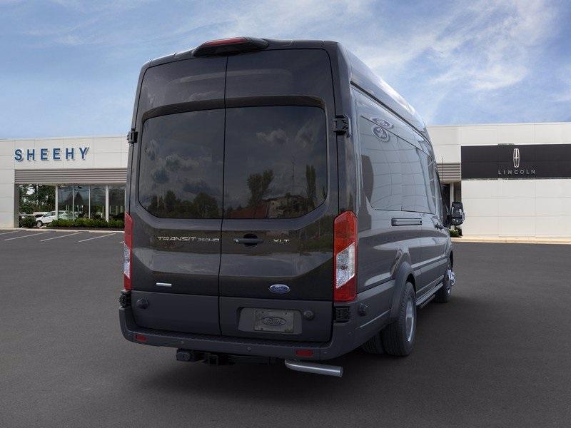 2020 Ford Transit 350 HD High Roof DRW RWD, Passenger Wagon #CKA80975 - photo 10