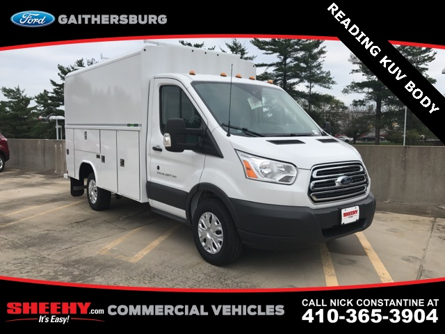 2018 Transit 350 4x2,  Reading Aluminum CSV Service Utility Van #CKA97586 - photo 3