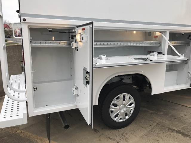 2018 Transit 350 4x2,  Reading Aluminum CSV Service Utility Van #CKA97586 - photo 11