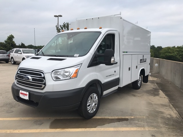 2018 Transit 350 4x2,  Reading Aluminum CSV Service Utility Van #CKA97586 - photo 1