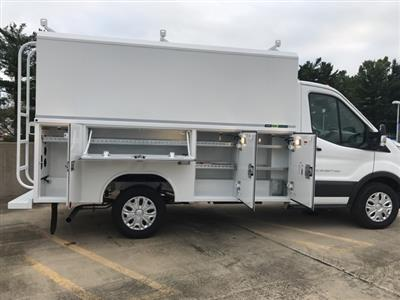 2018 Transit 350 4x2,  Reading Aluminum CSV Service Utility Van #CKA97586 - photo 10
