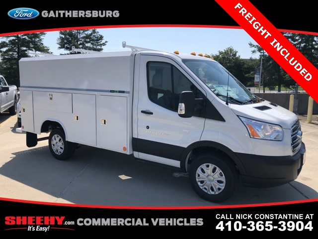 2019 Transit 350 4x2,  Reading Aluminum CSV Service Utility Van #CKB12377 - photo 1