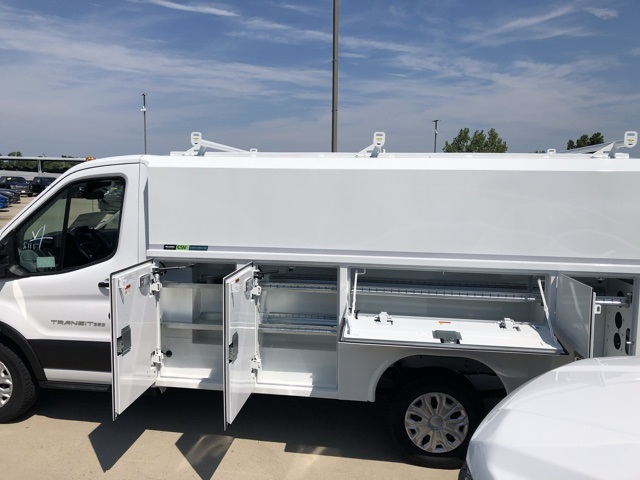 2019 Transit 350 4x2,  Reading Aluminum CSV Service Utility Van #CKB12377 - photo 8