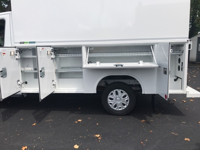 2019 Transit 350 4x2,  Reading Aluminum CSV Service Utility Van #CKB12378 - photo 17