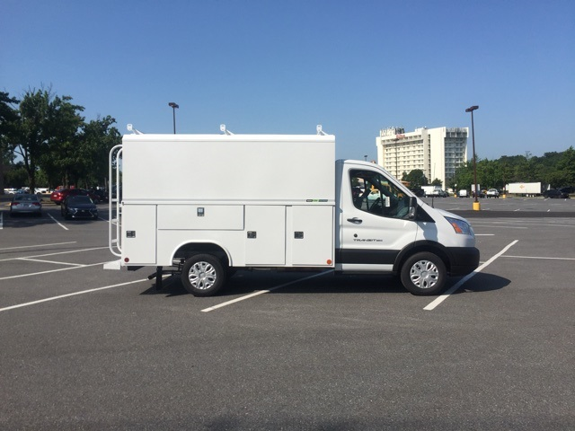 2019 Transit 350 4x2,  Reading Aluminum CSV Service Utility Van #CKB12378 - photo 3