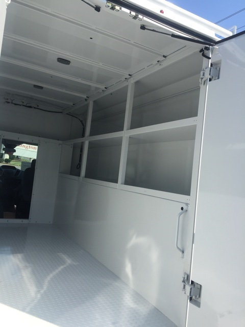 2019 Transit 350 4x2,  Reading Aluminum CSV Service Utility Van #CKB12378 - photo 8