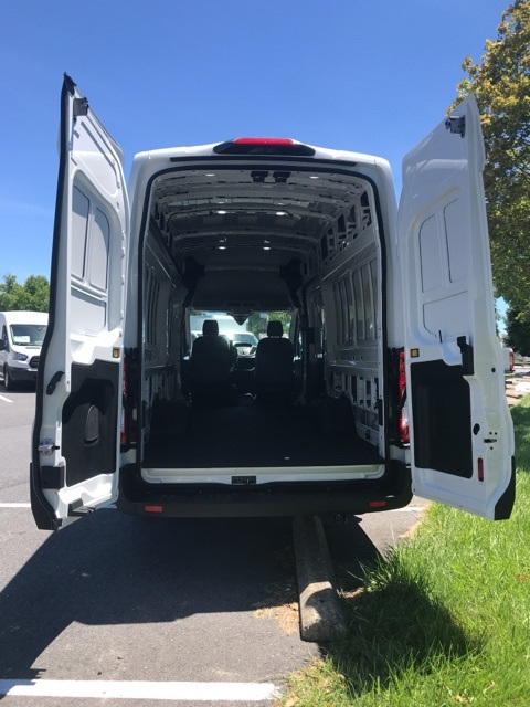 2019 Transit 350 HD High Roof DRW 4x2,  Empty Cargo Van #CKB23577 - photo 10