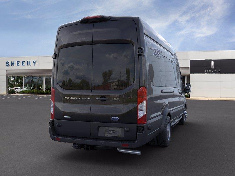 2020 Ford Transit 350 HD High Roof DRW 4x2, Passenger Wagon #CKB77483 - photo 2